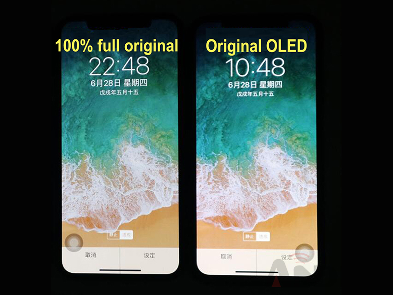 color and brightness very close to OEM