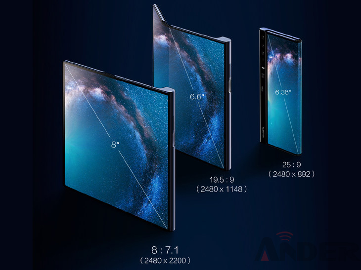 Samsung Galaxy Fold vs Huawei Mate X Battle of Folding Screen (4)
